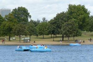 waterfietsen Amsterdam